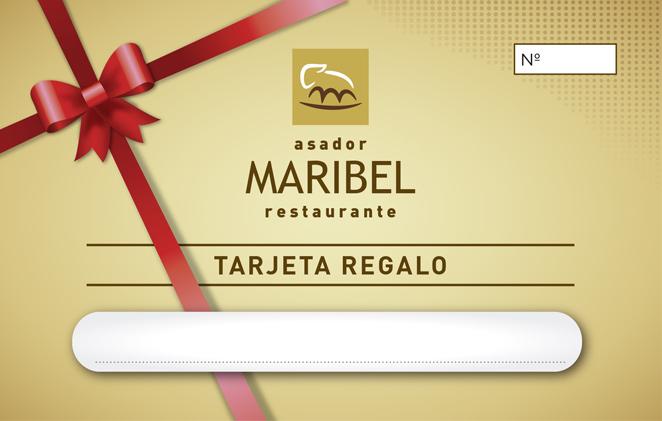 Tarjeta Regalo Restaurante Maribel
